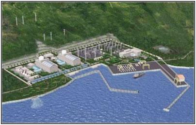 Mô hình nhà máy điện Hạt Nhân tại Ninh Thuận