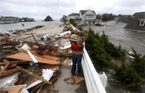48 người thiệt mạng ở Mỹ do bão Sandy