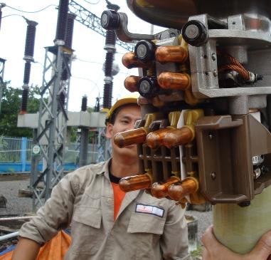 Duy tu 4 bộ OLTC ABB và MR tại các trạm 110 kV thuộc Xí Nghiệp Điện Cao Thế Đồng Nai