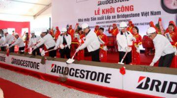 Bridgestone nâng vốn đầu tư lên 1,2 tỷ USD