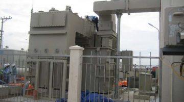Làm đầu cáp 110kV tại Công trình xây dựng trạm biến áp 110 kV tại Nhà Máy Bridgestone Hải Phòng